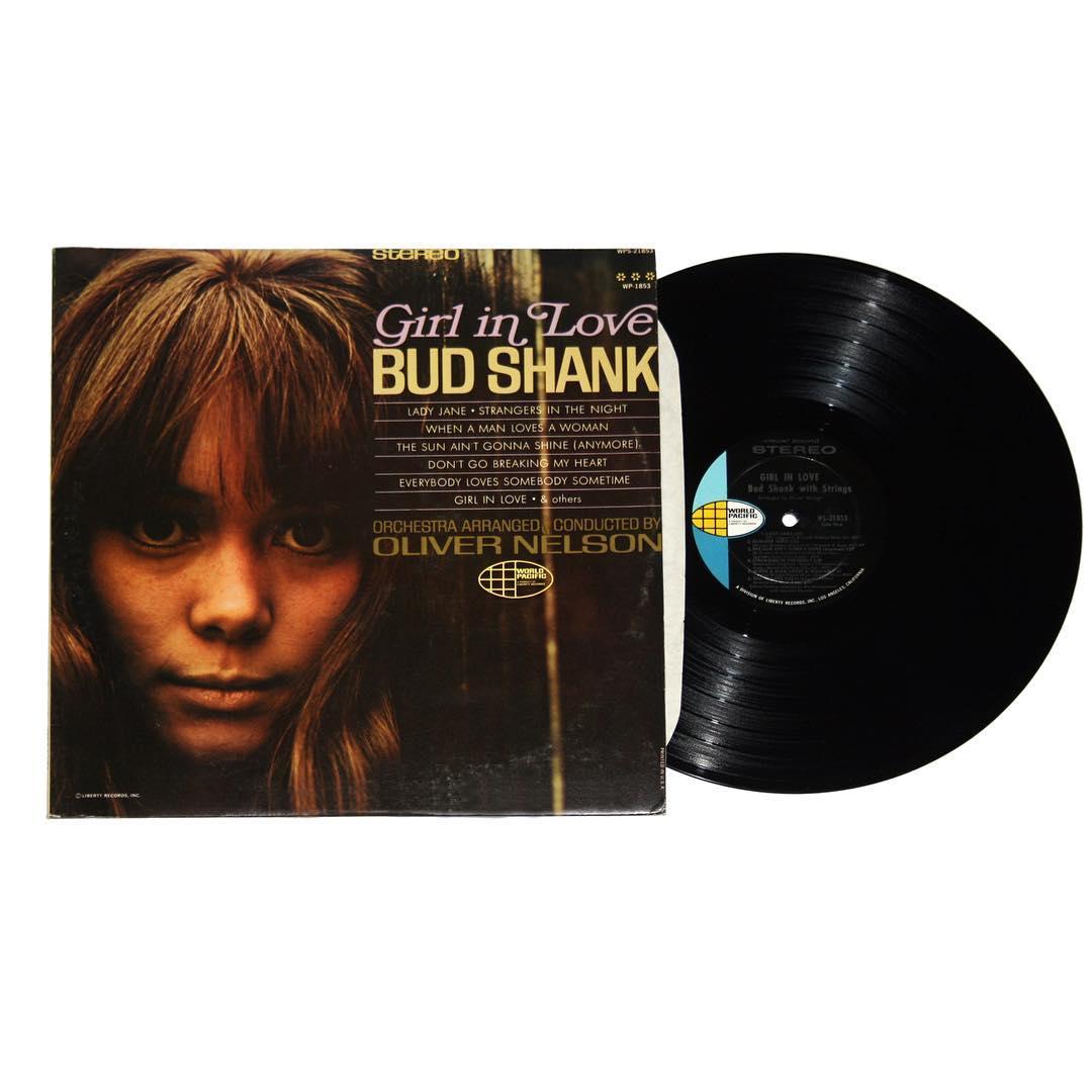 Bud Shank - Girl In Love Album