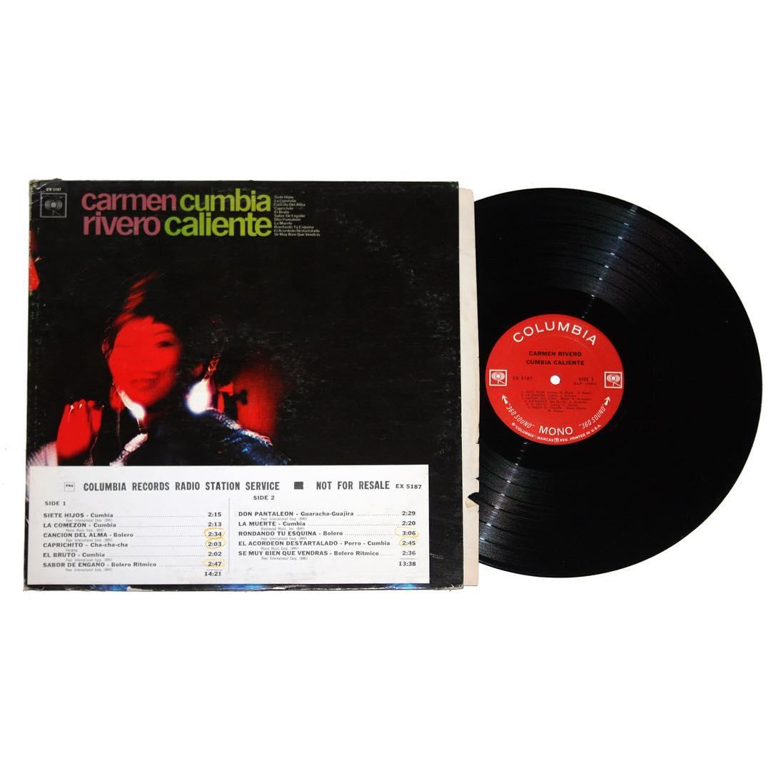 Carmen Rivero - Cumbia Caliente Album
