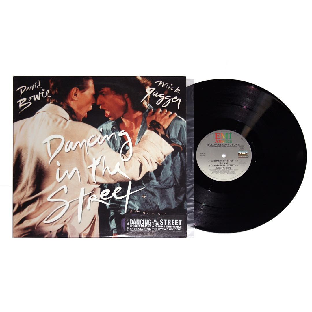 David Bowie and Mick Jagger - Dancing In The Street Single