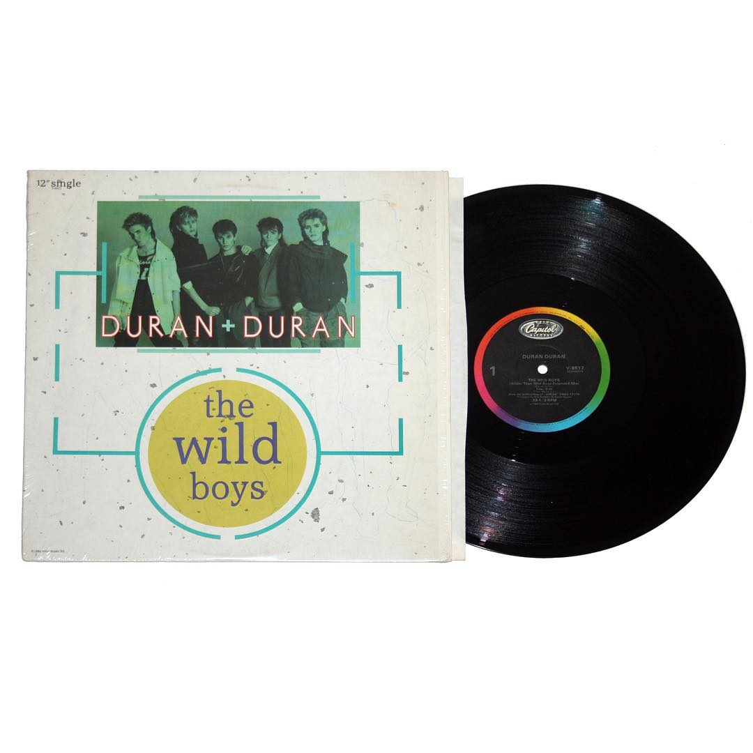 Duran Duran - The Wild Boys b/w I'm Looking For Cracks In The Pavement Maxi-Single