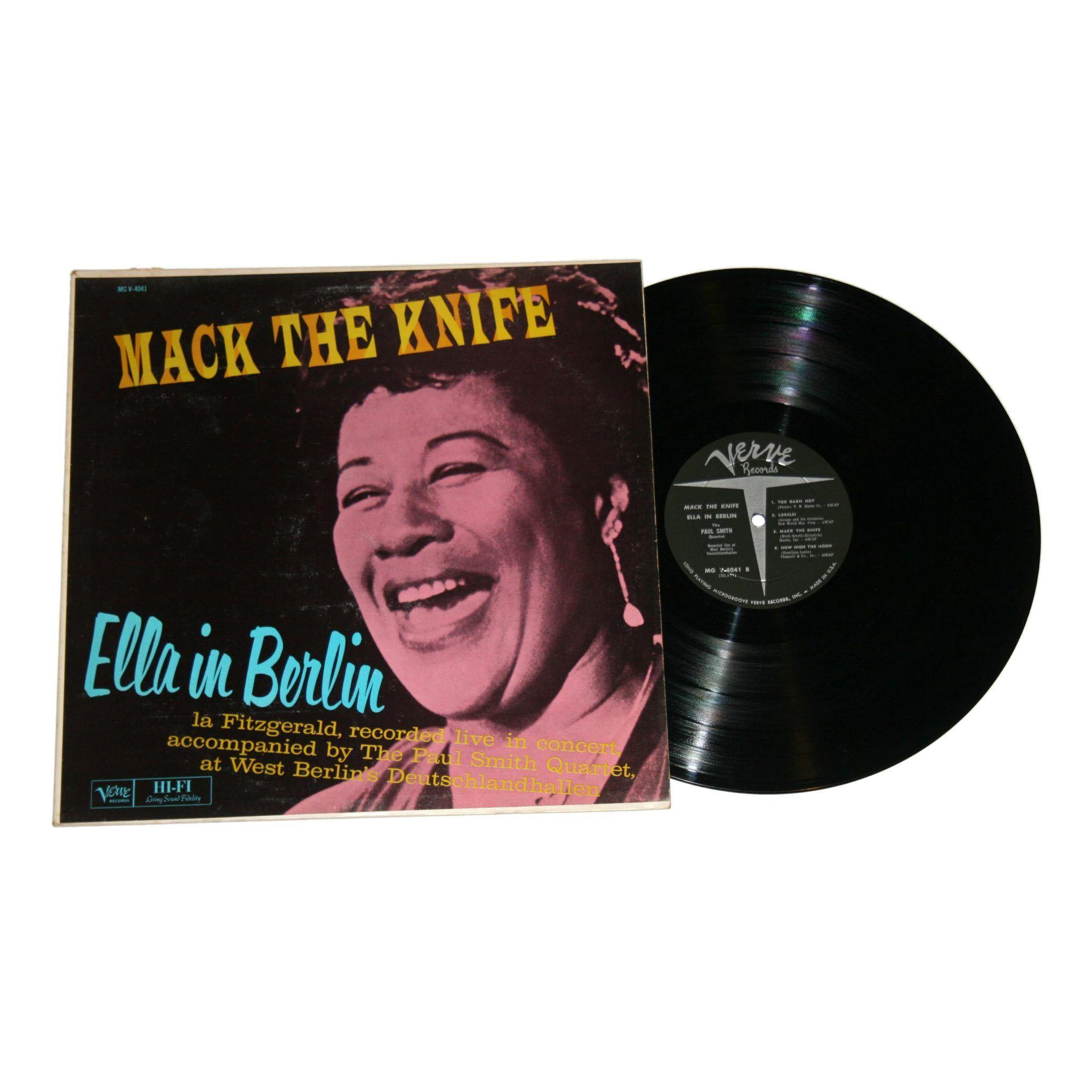 Ella Fitzgerald Quot Mack The Knife Ella In Berlin Quot Phonodelic