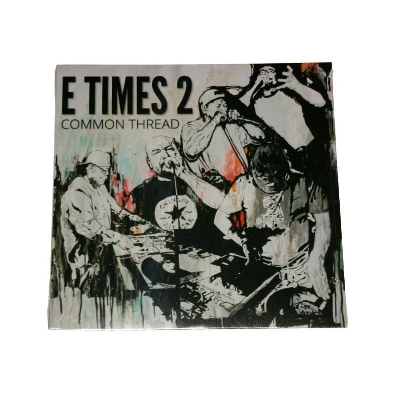 """Common Thread is the fourth full-length release from EX2; spearheaded by Gel Roc, Regret and Digit 6 of the original """"Endangered Elements"""" collective."""