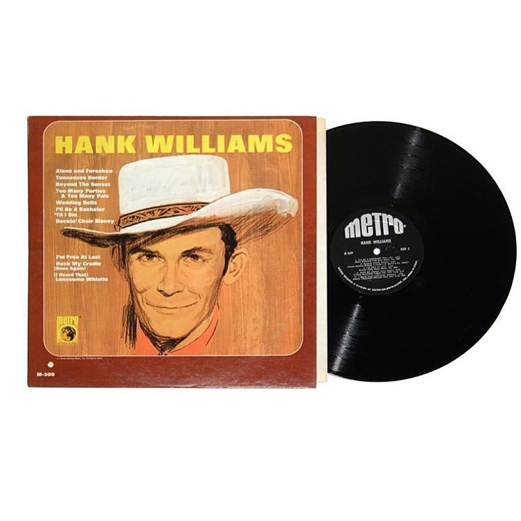 Hank Williams and The Drifting Cowboys Vinyl