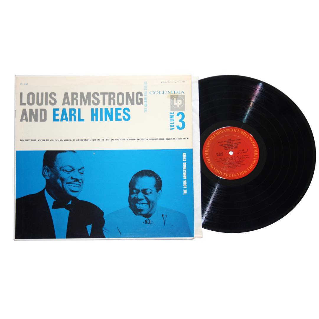 Louis Armstrong and Earl Hines The Louis Armstrong Story Vinyl