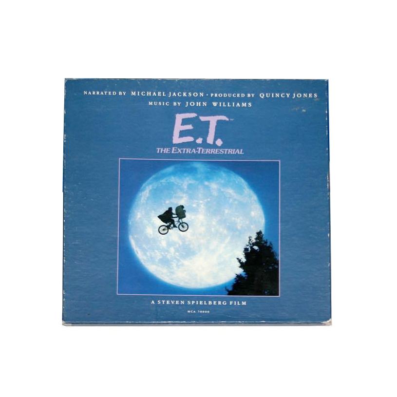 Michael Jackson & John Williams - E.T. The Extra-Terrestrial Storybook Album