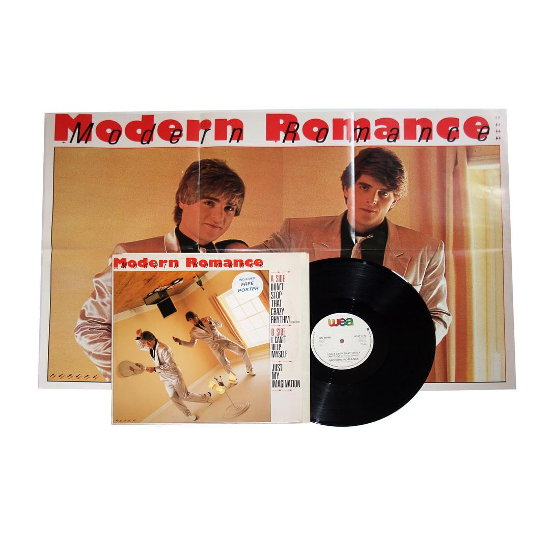Modern Romance - Don't Stop That Crazy Rhythm Vinyl