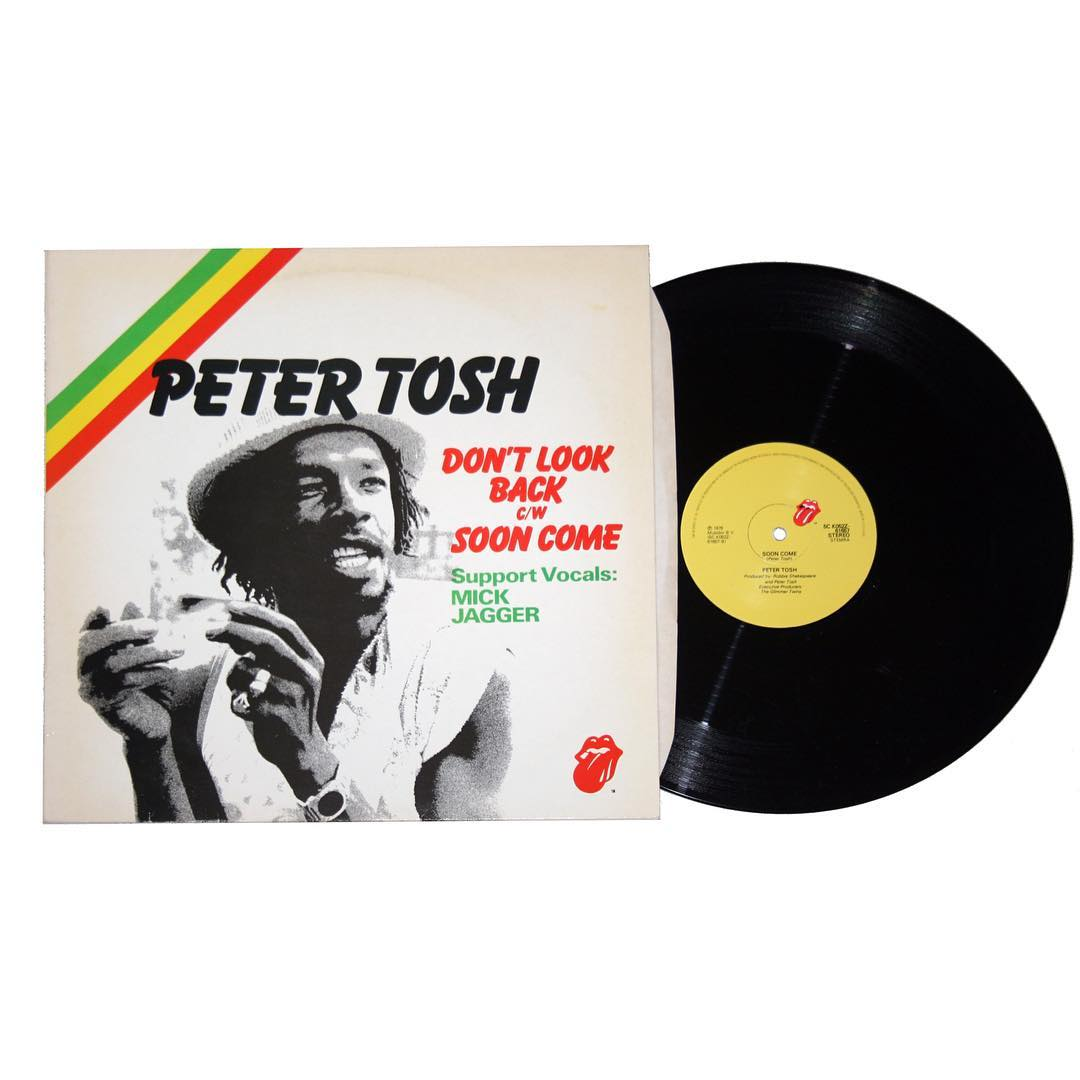 "Peter Tosh - Don't Look Back featuring Mick Jagger 12"" Single"