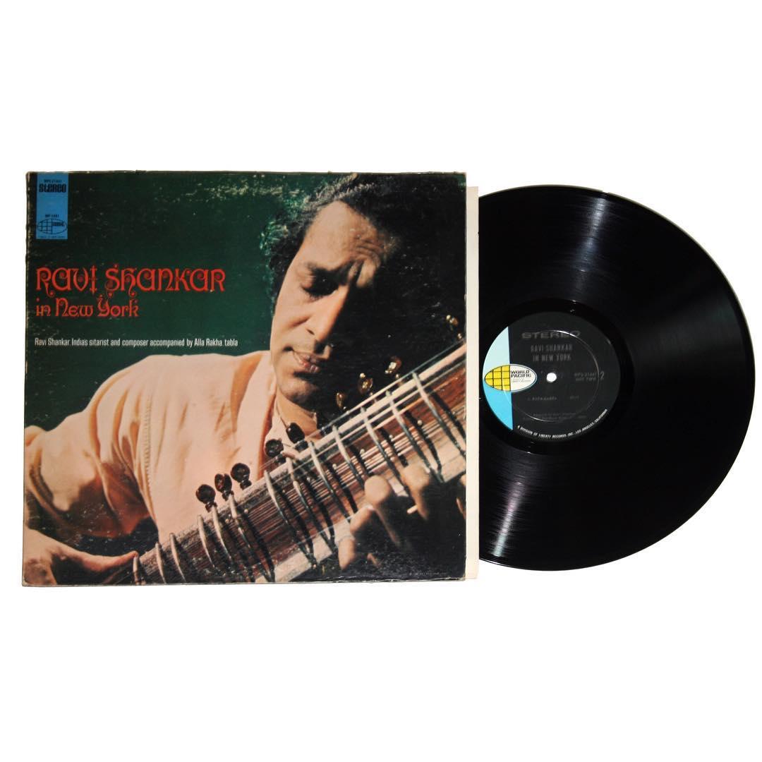 Ravi Shankar In New York Vinyl