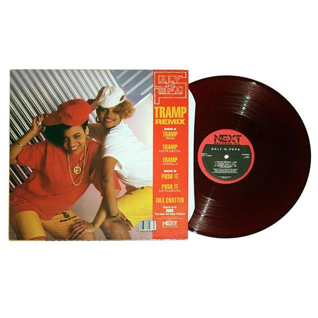 Salt N Pepa - Push It Red Vinyl Maxi-Single
