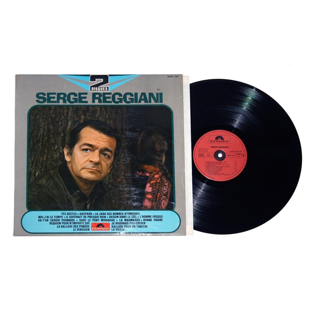 Serge Reggiani - Self Titled Vinyl