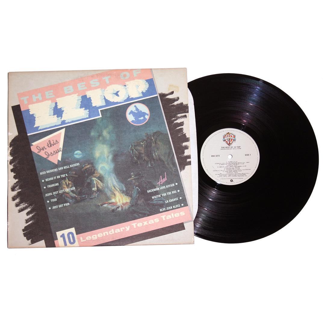 The Best of ZZ Top Vinyl