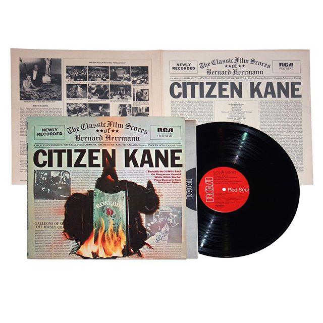 The Classic Film Scores of Bernard Herrmann Vinyl