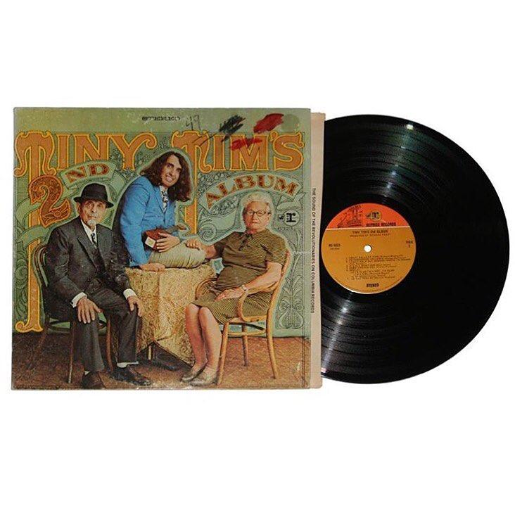 Tiny Tim's 2nd Album Vinyl