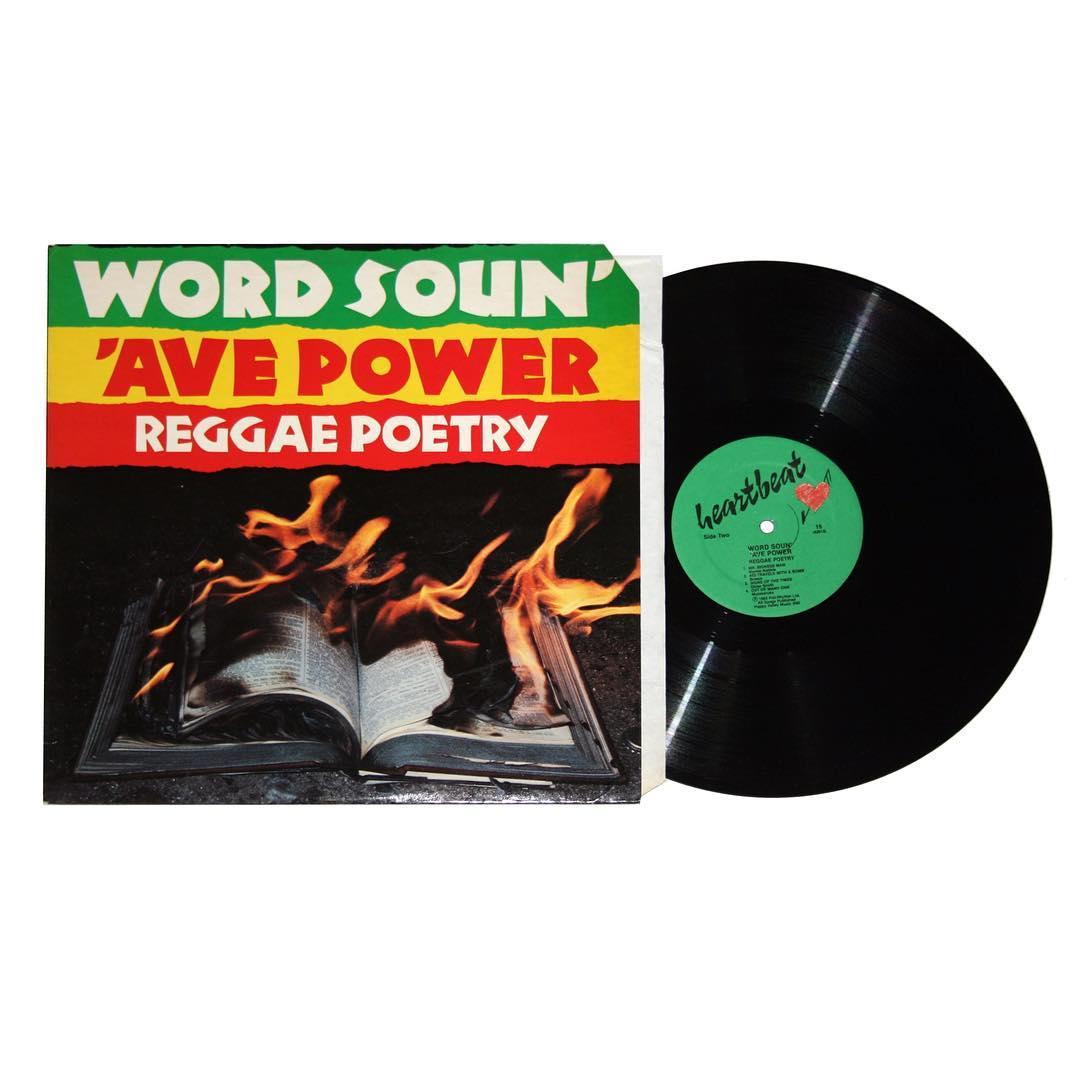 Word Soun' 'Ave Power - Reggae Poetry Vinyl